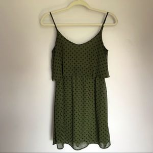 Green Patterned Dress